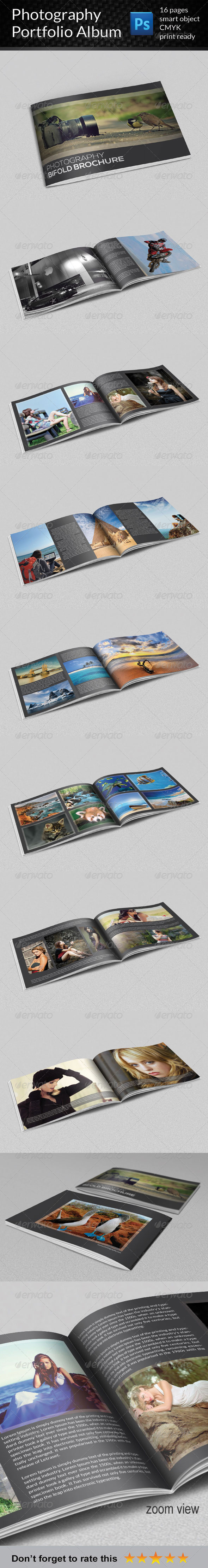 GraphicRiver Photography Portfolio Album 7426228