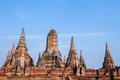 Chaiwatthanaram temple at Ayutthaya in Thailand and most famous for tourist - PhotoDune Item for Sale