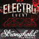 Vintage Electro Haus Event Flyer Template - GraphicRiver Item for Sale