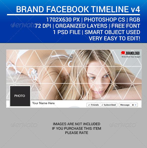 GraphicRiver Brand Facebook Timeline v4 7416462