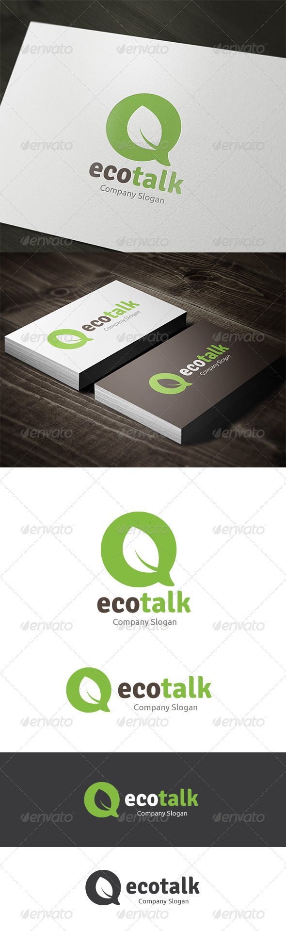 GraphicRiver Eco Talk 7430349