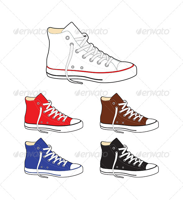 GraphicRiver Sneakers 7430550