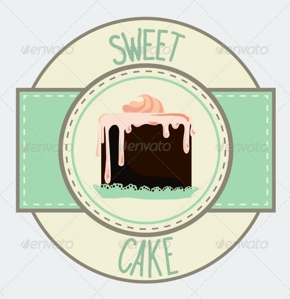 GraphicRiver Vintage Cupcake Poster Design 7430648