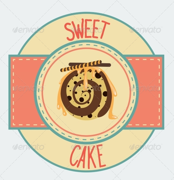 GraphicRiver Vintage Cupcake Poster Design 7430651