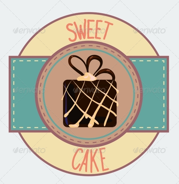 GraphicRiver Vintage Cupcake Poster Design 7430656