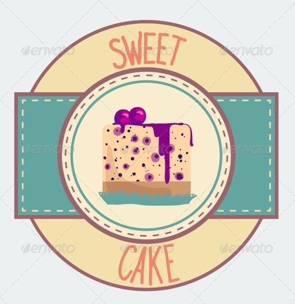 GraphicRiver Vintage Cupcake Poster Design 7430657