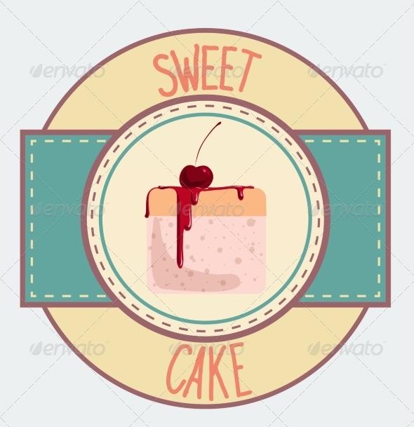 GraphicRiver Vintage Cupcake Poster Design 7430659