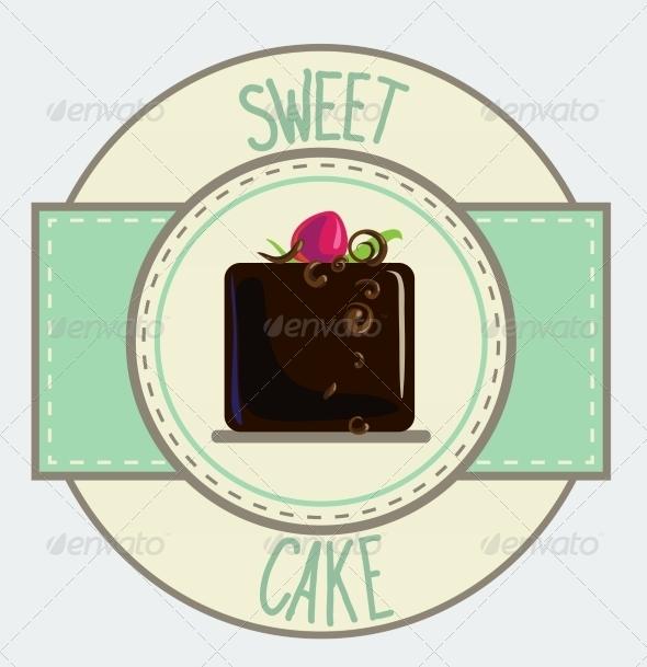 GraphicRiver Vintage Cupcake Poster Design 7430666