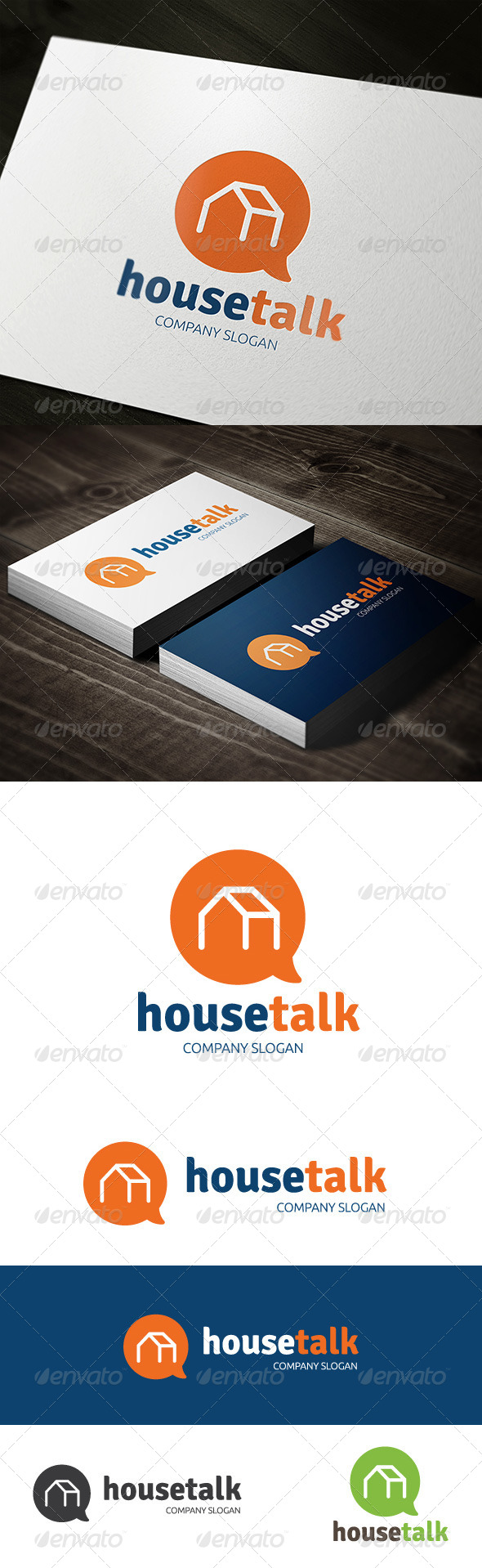 GraphicRiver House Talk 7430938