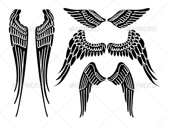 GraphicRiver Angel Wings 7431030