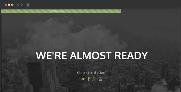ThemeForest HighFi Coming Soon Responsive Template 7391848