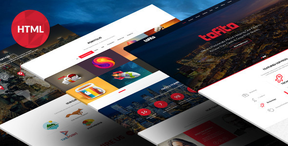ThemeForest TOFITO Responsive One Page HTML5 Template 7371373