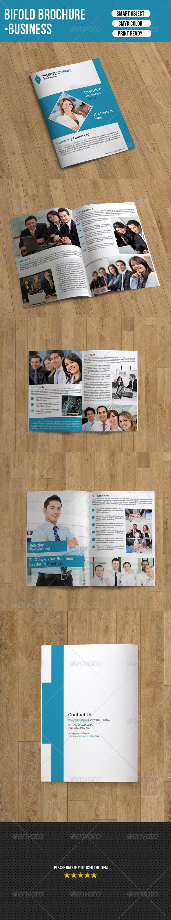 GraphicRiver Business Brochure Template 7420381