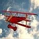 Military ww1 triplane fokker dr1  - 3DOcean Item for Sale