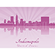 Indianapolis Skyline - GraphicRiver Item for Sale