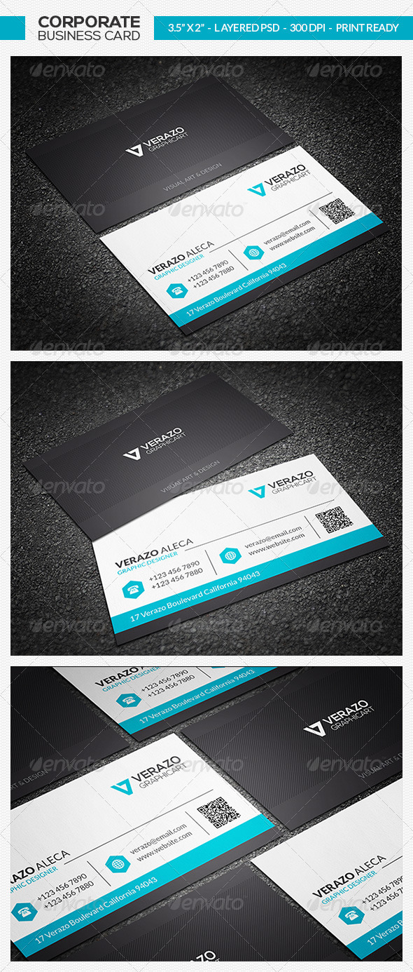 GraphicRiver Clean Business Card 23 7431881