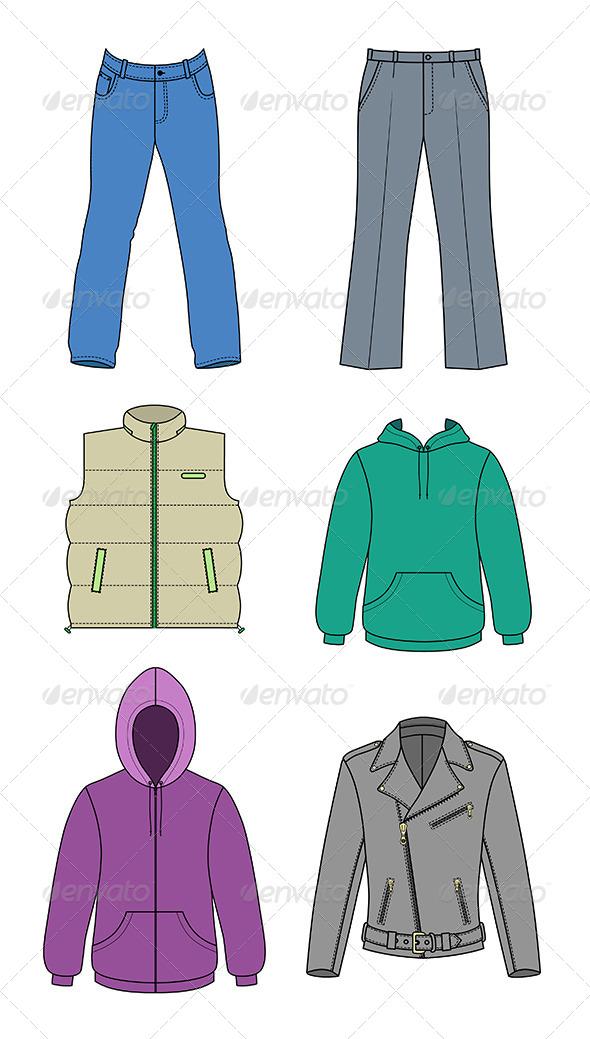 GraphicRiver Men Clothes Collection 7432229