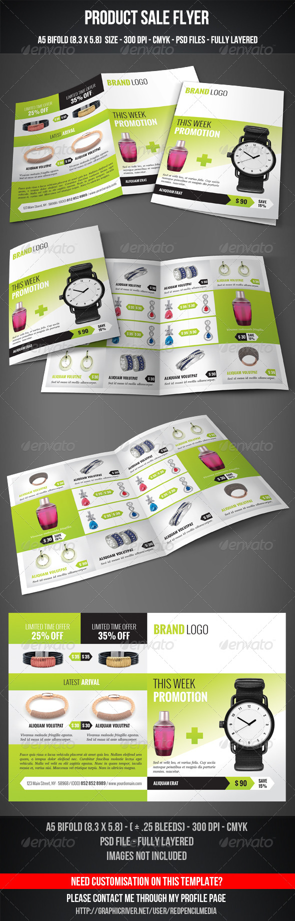 GraphicRiver Product Sale Flyer 7420846