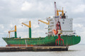 Merchant ship in the port - PhotoDune Item for Sale