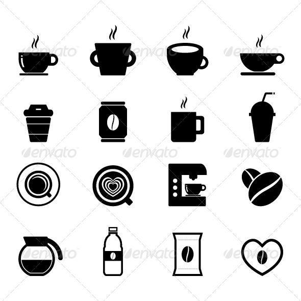 GraphicRiver Coffee Icon 7433407