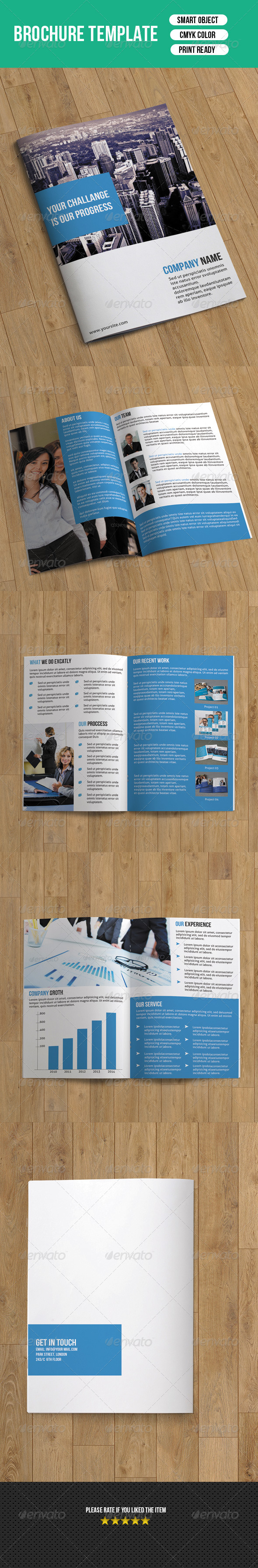 GraphicRiver Bifold Brochure-Business 7433806