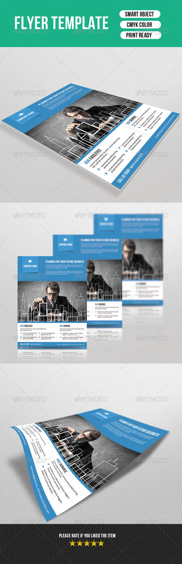 GraphicRiver Business Flyer Template 7433873