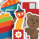 Toy Stickers - GraphicRiver Item for Sale