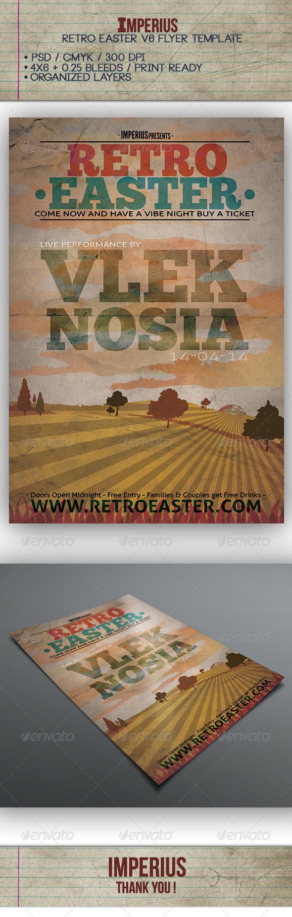 GraphicRiver Retro Easter V6 7435281