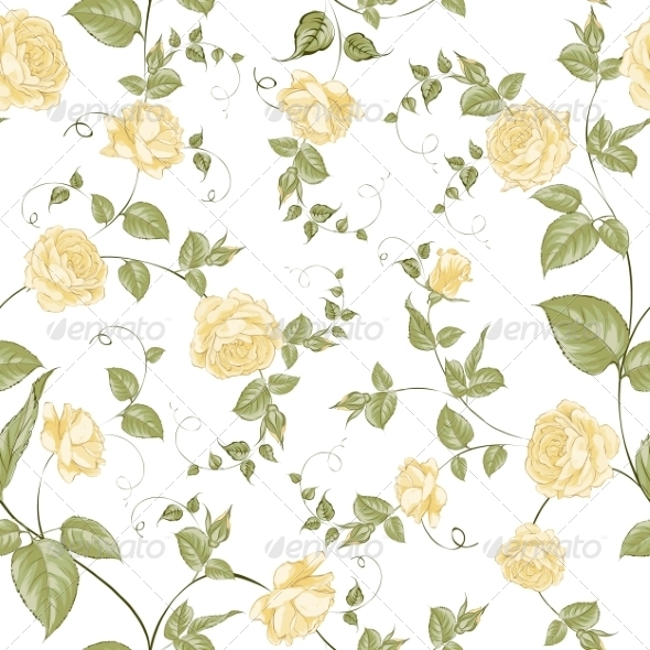 GraphicRiver Floral Background 7435518
