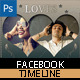 Facebook Electro Love Timeline Covers - GraphicRiver Item for Sale
