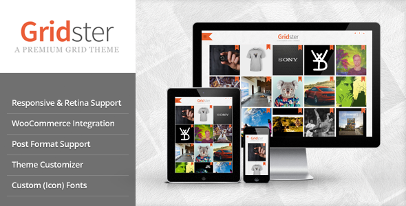 ThemeForest Gridster Multi-Purpose Responsive Grid Theme 7384426