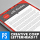 Creative Corporate Agency Letterhead Vol.1 - GraphicRiver Item for Sale