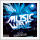 Music Wave CD Cover - GraphicRiver Item for Sale