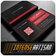 IntenseArtisan Business Card Vol.63 - GraphicRiver Item for Sale