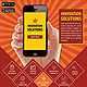 Mobile Apps Promotion Flyers - GraphicRiver Item for Sale