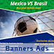 Banners Soccer - GraphicRiver Item for Sale
