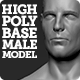 High Polygon Base Human Male Model - 3DOcean Item for Sale