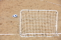 football gate and ball, beach soccer - PhotoDune Item for Sale