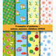 Set Of Summer baby Fabric - GraphicRiver Item for Sale