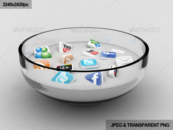 GraphicRiver Social Media Soup 767309