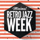 Minimal Retro Jazz Week Flyer  - GraphicRiver Item for Sale