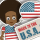 USA Stickers - GraphicRiver Item for Sale