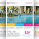 Swimming Pool Cleaning Service Flyer Template - GraphicRiver Item for Sale