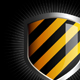 Glossy striped shield - GraphicRiver Item for Sale