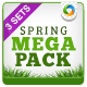 Spring Sale Mega Pack - 3 Banner Sets - GraphicRiver Item for Sale