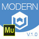 Modern One | Adobe Muse Template - ThemeForest Item for Sale