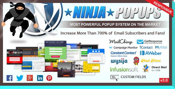 CodeCanyon - Ninja Popups for WordPress v3.0