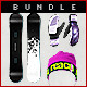 Snowboard Bundle - GraphicRiver Item for Sale
