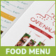 Trifold Menu Design - GraphicRiver Item for Sale