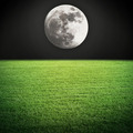 Night moon and field - PhotoDune Item for Sale